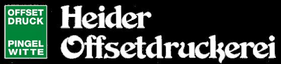 Heider Offsetdruckerei Pingel-Witte